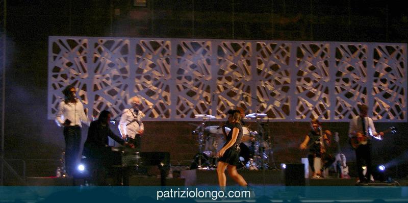 Malika Ayane live in Lecce del 30 luglio 2010